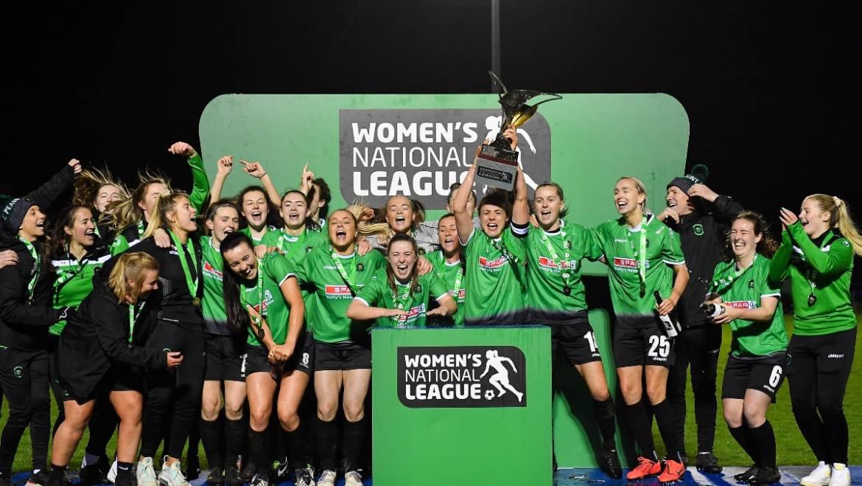 O'Gorman brace retains WNL title Peamount United 3-1 Shelbourne