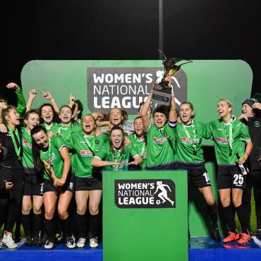 O'Gorman brace retains WNL title Peamount United 3-1 Shelbourne